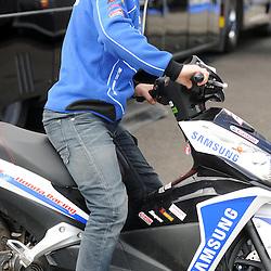 British Superbikes, Knockhill, 14-06-2013<br /> <br /> Samsung Honda, Alex Lowes (22)<br /> <br /> (c) David Wardle | StockPix.eu