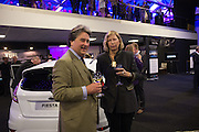 HUGO SPOWERS; LADY ALEXANDRA FOLEY, Preview for The London Motor Show, Battersea Evolution. London. 5 May 2016