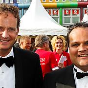NLD/Amsterdam/20100605 - Amsterdamdiner 2010, Joop Wijn en Jan Kees de Jager