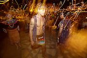 Night Safari Singapore. Folcloric show.