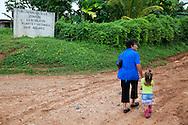 Woman and girl in Chorro de Maita, Holguin, Cuba.