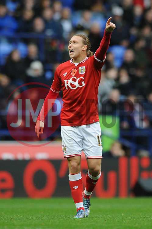 Luke Freeman of Bristol City - Mandatory byline: Dougie Allward/JMP - 07966 386802 - 07/11/2015 - FOOTBALL - Macron Stadium - Bolton, England - Bolton Wanderers v Bristol City - Sky Bet Championship