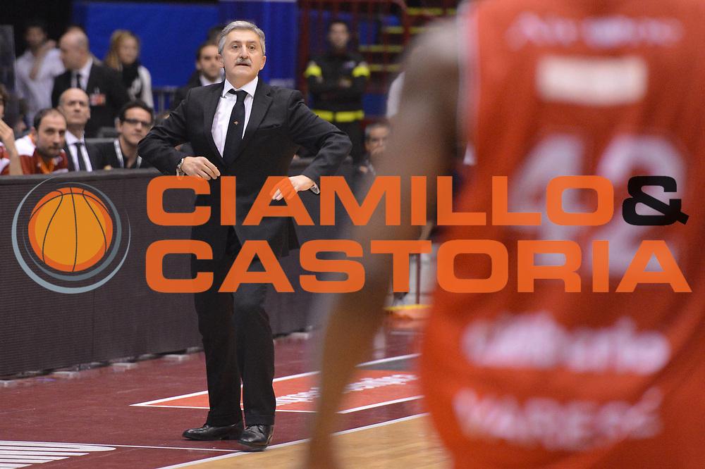 DESCRIZIONE : Milano Coppa Italia Final Eight 2013 semifinale Cimberio Varese Acea Roma<br /> GIOCATORE : Marco Calvani<br /> CATEGORIA : delusione<br /> SQUADRA : Acea Roma<br /> EVENTO : Beko Coppa Italia Final Eight 2013<br /> GARA : Cimberio Varese Acea Roma<br /> DATA : 09/02/2013<br /> SPORT : Pallacanestro<br /> AUTORE : Agenzia Ciamillo-Castoria/GiulioCiamillo<br /> Galleria : Lega Basket Final Eight Coppa Italia 2013<br /> Fotonotizia : Milano Coppa Italia Final Eight 2013 semifinale Cimberio Varese Acea Roma<br /> Predefinita :