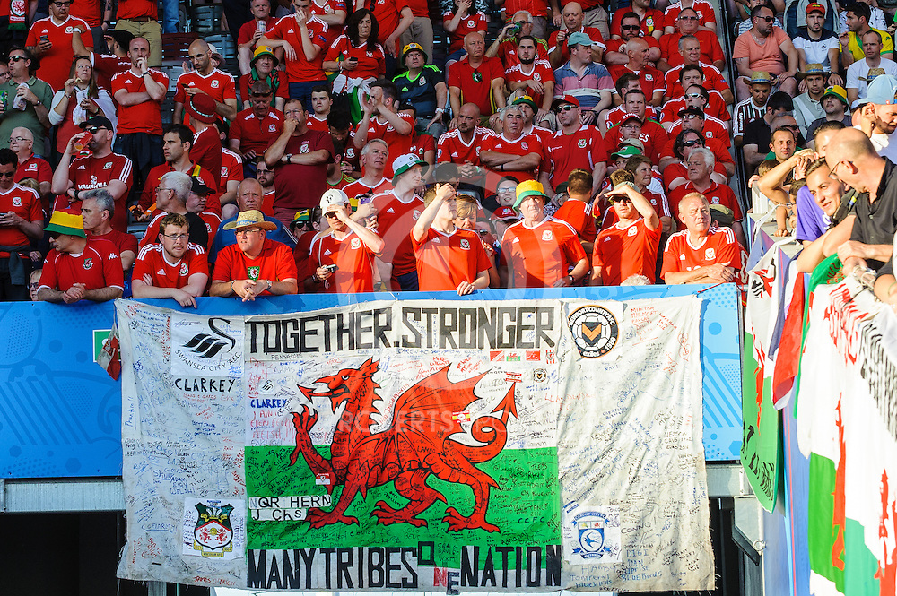 Action from the WALES v RUSSIA game at UEFA EURO 2016 in Toulouse, 20 June 2016. (c) Paul J Roberts / Sportpix.org.uk