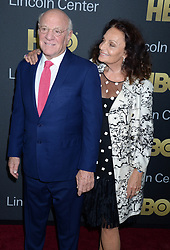 Gala Co-Chairs Barry Diller and Diane von Furstenberg attending the 2018 Lincoln Center American Songbook gala honoring HBO's Richard Plepler at Alice Tully Hall, Lincoln Center on May 29, 2018 in New York City, NY, USA. Photo by Dennis Van Tine/ABACAPRESS.COM