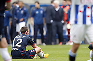 Onderwerp/Subject: Willem II - Eredivisie<br /> Reklame:  <br /> Club/Team/Country: <br /> Seizoen/Season: 2012/2013<br /> FOTO/PHOTO: Ricardo IPPEL (ON GROUND) of Willem II dejected after the match. (Photo by PICS UNITED)<br /> <br /> Trefwoorden/Keywords: <br /> #03 $94 ±1355241558607 ±1355241558607<br /> Photo- & Copyrights © PICS UNITED <br /> P.O. Box 7164 - 5605 BE  EINDHOVEN (THE NETHERLANDS) <br /> Phone +31 (0)40 296 28 00 <br /> Fax +31 (0) 40 248 47 43 <br /> http://www.pics-united.com <br /> e-mail : sales@pics-united.com (If you would like to raise any issues regarding any aspects of products / service of PICS UNITED) or <br /> e-mail : sales@pics-united.com   <br /> <br /> ATTENTIE: <br /> Publicatie ook bij aanbieding door derden is slechts toegestaan na verkregen toestemming van Pics United. <br /> VOLLEDIGE NAAMSVERMELDING IS VERPLICHT! (© PICS UNITED/Naam Fotograaf, zie veld 4 van de bestandsinfo 'credits') <br /> ATTENTION:  <br /> © Pics United. Reproduction/publication of this photo by any parties is only permitted after authorisation is sought and obtained from  PICS UNITED- THE NETHERLANDS