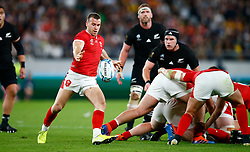 Gareth Davies of Wales during the Bronze Final match between New Zealand and Wales Mandatory by-line: Steve Haag Sports/JMPUK - 01/11/2019 - RUGBY - Tokyo Stadium - Tokyo, Japan - New Zealand v Wales - Bronze Final - Rugby World Cup Japan 2019
