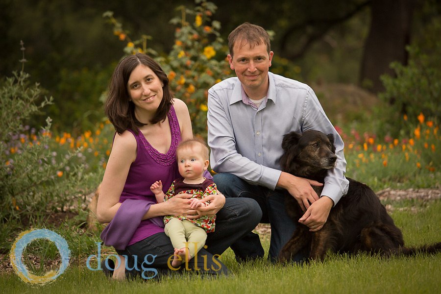 Family portraits for Stoll Family, Santa Barbara CA