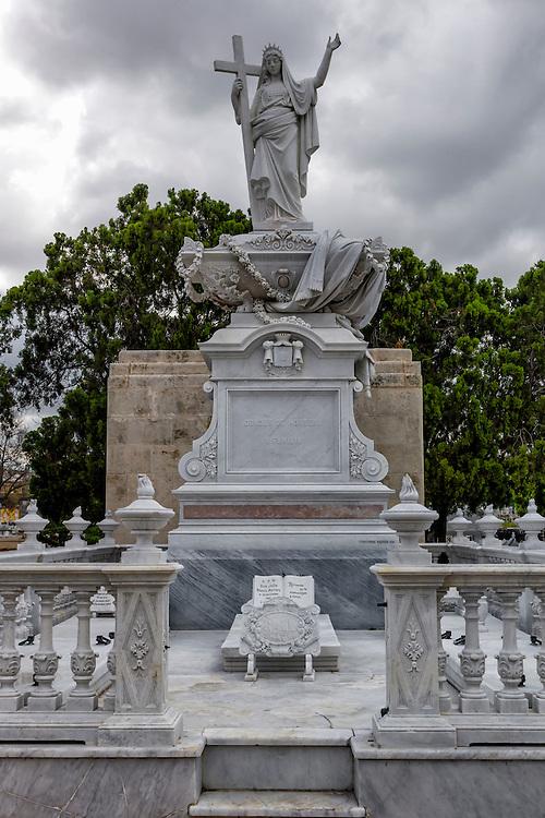 Colon Cemetery in Havana Vedado, Cuba.