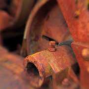 Rusting Equipment - Pottsville - Merlin, Oregon - Lensbaby