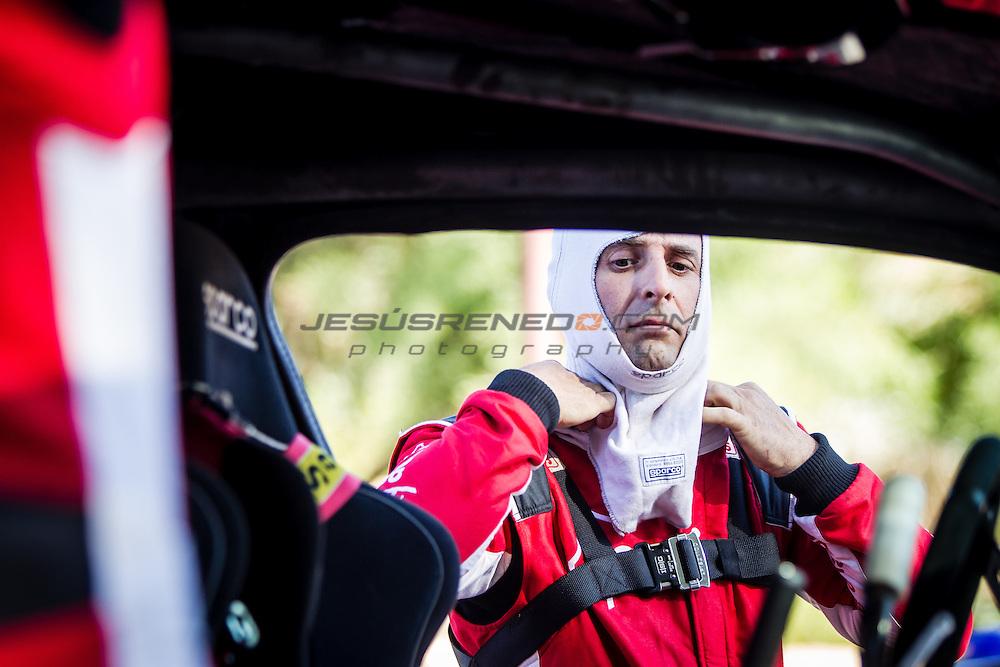 Acciona 100x100 ecopowered,electric car, Marocco rally 2015, day 2