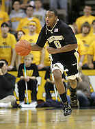 26 NOVEMBER 2007: Wake Forest guard Jeff Teague (0) brings the ball down court in Wake Forest's 56-47 win over Iowa at Carver-Hawkeye Arena in Iowa City, Iowa on November 26, 2007.