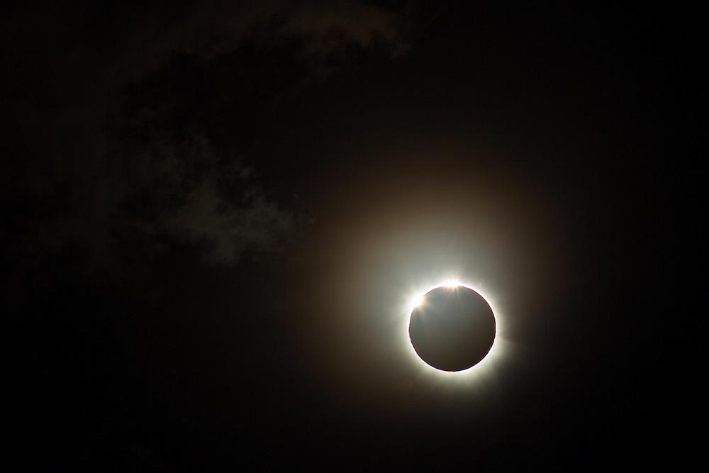 Sequence of Total Solar Eclipse, Uganda, 3 November, 2013