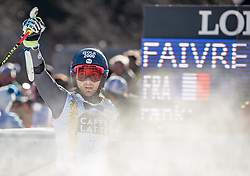 18.12.2016, Grand Risa, La Villa, ITA, FIS Ski Weltcup, Alta Badia, Riesenslalom, Herren, 2. Lauf, im Bild Mathieu Faivre (FRA, 2. Platz) // second placed Mathieu Faivre of France reacts after his 2nd run of men's Giant Slalom of FIS ski alpine world cup at the Grand Risa race Course in La Villa, Italy on 2016/12/18. EXPA Pictures © 2016, PhotoCredit: EXPA/ Johann Groder