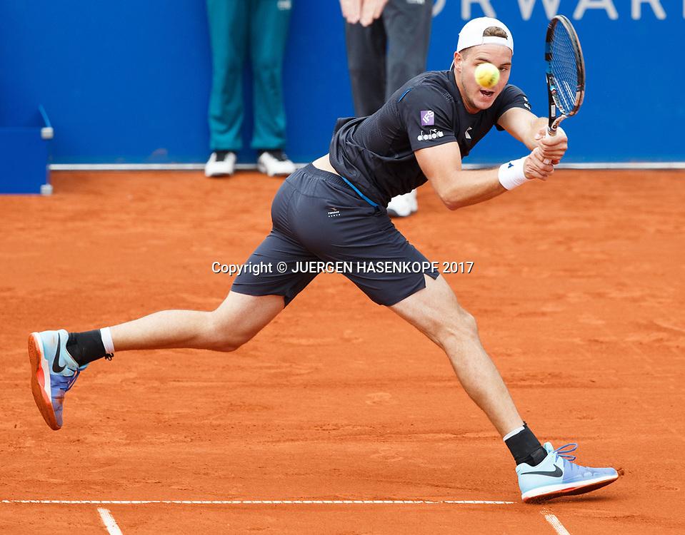 JAN-LENNARD STRUFF (GER)<br /> <br /> Tennis - BMW Open2017 -  ATP  -  MTTC Iphitos - Munich -  - Germany  - 3 May 2017.
