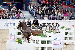 Dobrovitz Jozsef jr (HUN)<br /> Gothenburg Horse Show FEI World Cups 2017<br /> © Hippo Foto - Stefan Lafrentz