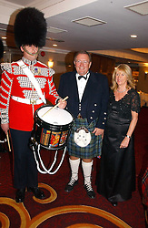 MR & MRS DAVID REID he is chairman of Tesco plc at  the Royal Caledonian Ball held at The Grosvenor House Hotel, Park Lane, London on 5th May 2006.<br /><br />NON EXCLUSIVE - WORLD RIGHTS