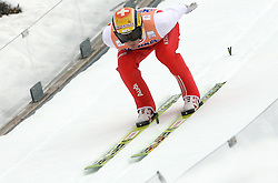 Andreas Kuettel (SUI) at Flying Hill Individual in 2nd day of 32nd World Cup Competition of FIS World Cup Ski Jumping Final in Planica, Slovenia, on March 20, 2009. (Photo by Vid Ponikvar / Sportida)