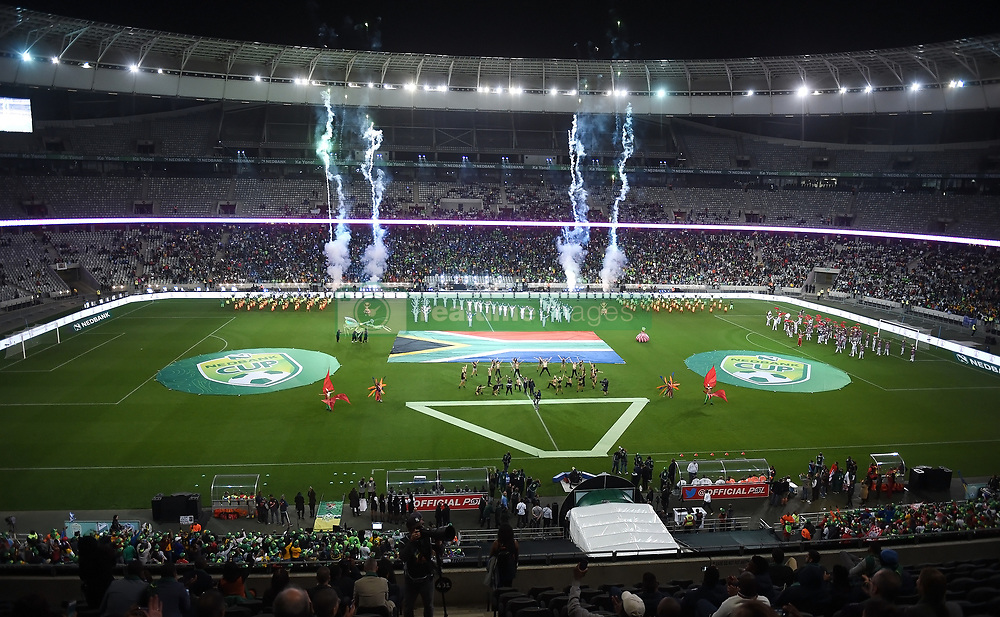 Cape Town-180519 Mhe Nedbank Cup final ceremony at Cape Town stadium before the start of the game .photograph:Phando Jikelo/African News Agency/ANA