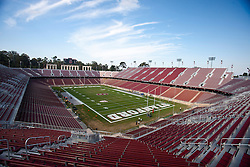 November 6, 2010; Stanford, CA, USA;  General view of Stanford Stadium before the game between the Stanford Cardinal and the Arizona Wildcats.