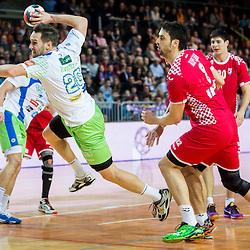20160109: SLO, Handball - Friendly game, Slovenia vs Croatia