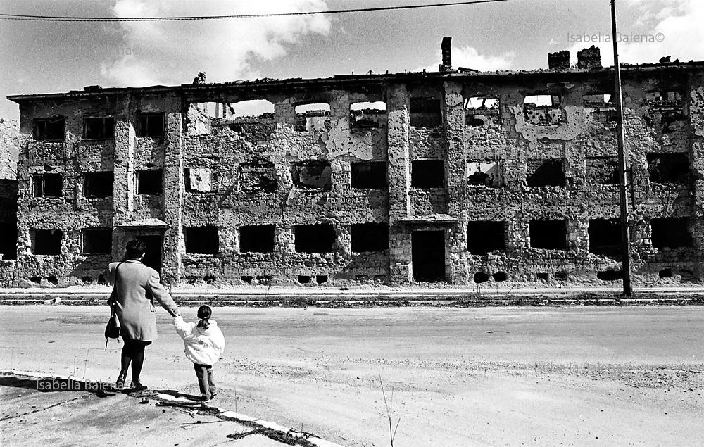 Mostar, Bosnia, apr. 1996
