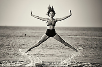 Dance As Art The New York City Photography Project Coney Island Ocean with Jaydn Reid.