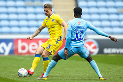 James Clarke of Bristol Rovers takes on Jordy Hiwula of Coventry City - Mandatory by-line: Robbie Stephenson/JMP - 07/04/2019 - FOOTBALL - Ricoh Arena - Coventry, England - Coventry City v Bristol Rovers - Sky Bet League One