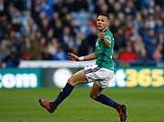 West Bromwich Albion's Kieran Gibbs  during the Premier League match between Huddersfield Town and West Bromwich Albion at the John Smiths Stadium, Huddersfield, England on 4 November 2017. Photo by Paul Thompson.
