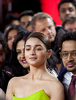 Actress Alia Bhatt at the premiere gala screening of the film Gully Boy at the Berlinale International Film Festival, on Saturday 9th February 2019, Berlin, Germany.