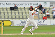 Ollie Pope of Surrey batting during the final day of the Specsavers County Champ Div 1 match between Worcestershire County Cricket Club and Surrey County Cricket Club at New Road, Worcester, United Kingdom on 13 September 2018.