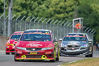 #27 James GRIFFITH Honda Civic FN2  during Cox Motor Parts Civic Cup  as part of the BRSCC NW Mazda Race Day  at Oulton Park, Little Budworth, Cheshire, United Kingdom. June 16 2018. World Copyright Peter Taylor/PSP. Copy of publication required for printed pictures. http://archive.petertaylor-photographic.co.uk