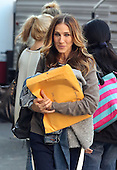 Actress Sarah Jessica Parker was on the set of the new TV show