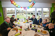 Birthday party during the EFL Sky Bet League 2 match between Forest Green Rovers and Yeovil Town at the New Lawn, Forest Green, United Kingdom on 16 February 2019.
