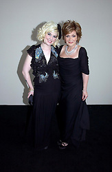 Left to right, KELLY OSBOURNE and SHARON OSBOURNE at the 2006 Glamour Women of the Year Awards 2006 held in Berkeley Square Gardens, London W1 on 6th June 2006.<br />