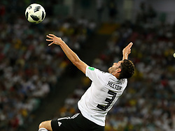 June 23, 2018 - Sochi, Russia - June 23, 2018, Russia, Sochi, FIFA World Cup, Group F, Second Round, Germany vs Sweden at the Fisht stadium. Player of the national team (Credit Image: © Russian Look via ZUMA Wire)