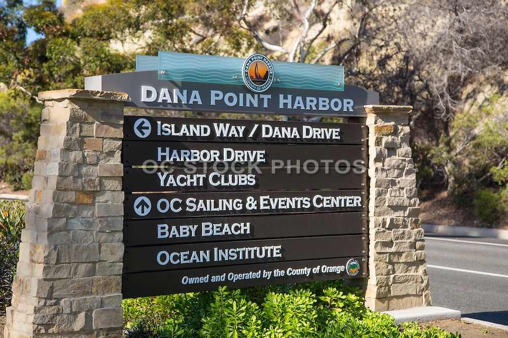 Dana Point Harbor Signage
