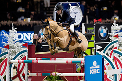 Leemans Thomas, BEL, Gracchus DM<br /> Jumping Mechelen 2019<br /> © Hippo Foto - Sharon Vandeput<br /> 28/12/19