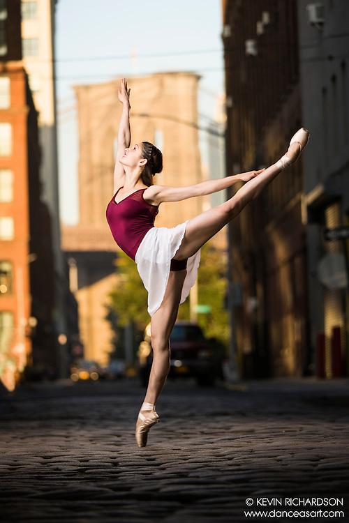 Dance As Art the New York City Photography Project Brooklyn Bridge Dumbo Series with Alex Policaro