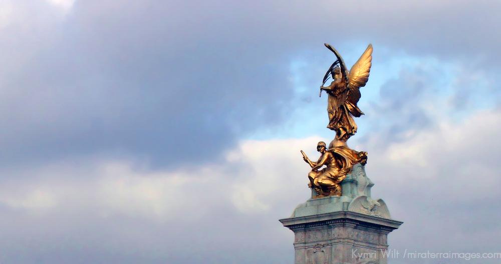 United Kingdom, Great Britain; England; London. Victoria Memorial.