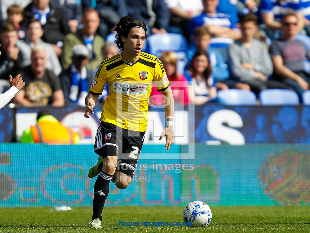 Jota of Brentford during the Sky Bet Championship match between Reading and y of Brentford at the Madejski Stadium, Reading<br /> Picture by Mark D Fuller/Focus Images Ltd +44 7774 216216<br /> 25/04/2015