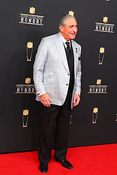 February 2, 2019 - Atlanta, GA, U.S. - ATLANTA, GA - FEBRUARY 02:  Arthur Blank    poses for photos on the red carpet at the NFL Honors on February 2, 2019 at the Fox Theatre in Atlanta, GA. (Photo by Rich Graessle/Icon Sportswire) (Credit Image: © Rich Graessle/Icon SMI via ZUMA Press)