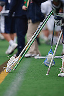 May 1, 2009:    Sidelines during the NCAA Lacrosse game between Notre Dame and Quinnipiac at GWLL Tournament in Birmingham, Michigan. (Credit Image: Rick Osentoski/Cal Sport Media)