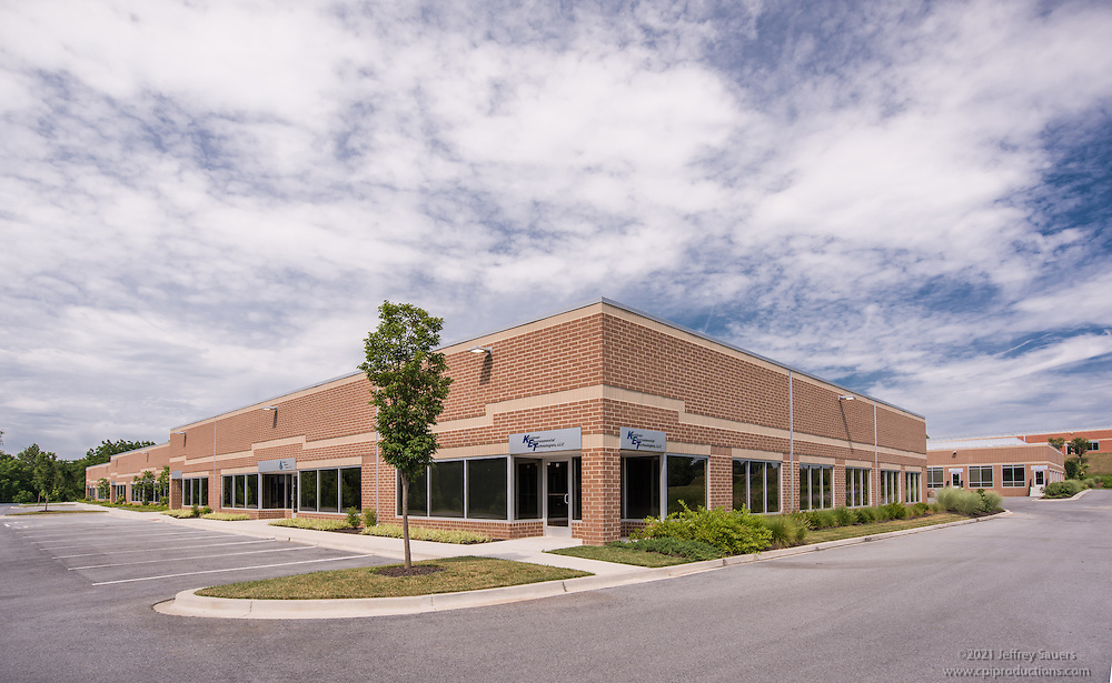 Architectural image of Dolfield Business Park in Owings Mills Maryland by Jeffrey Sauers of Commercial Photographics, Architectural Photo Artistry in Washington DC, Virginia to Florida and PA to New England