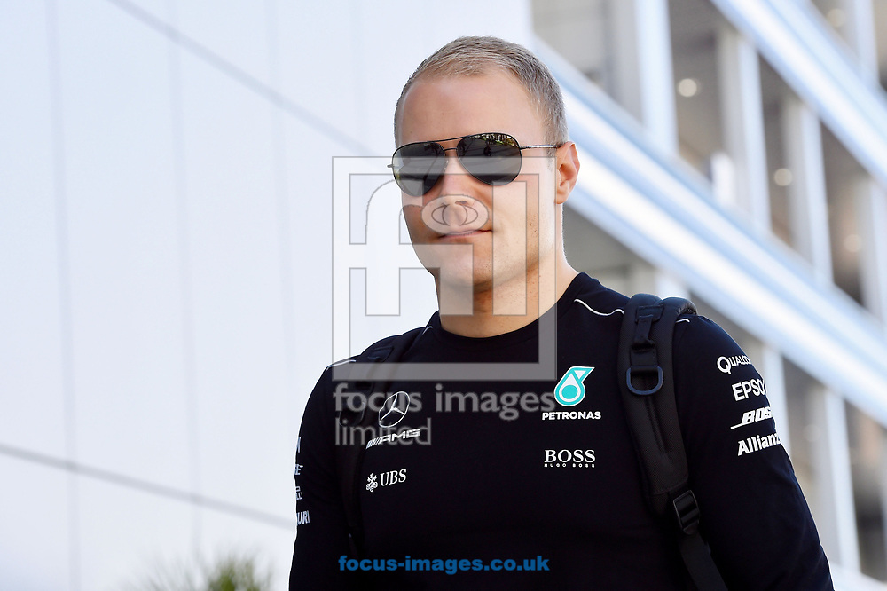 Valtteri Bottas of Mercedes AMG Petronas before winning the Russian Formula One Grand Prix at Sochi Autodrom, Sochi, Russia.<br /> Picture by EXPA Pictures/Focus Images Ltd 07814482222<br /> 30/04/2017<br /> *** UK & IRELAND ONLY ***<br /> <br /> EXPA-EIB-170430-0245.jpg