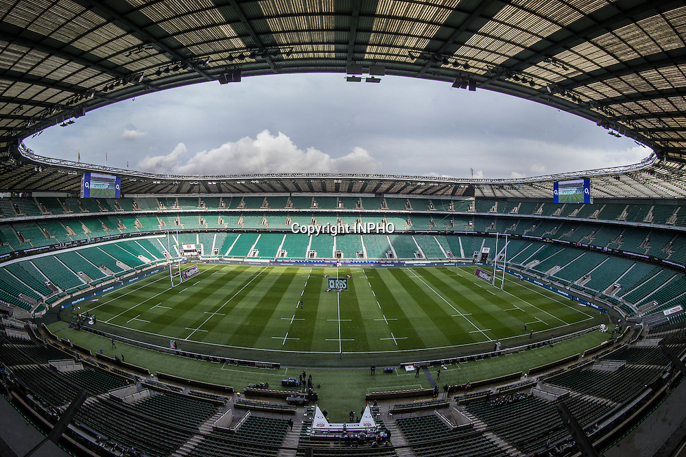 RBS 6 Nations Championship Round 1, Twickenham, London, England 4/2/2017<br /> England vs France<br /> A view of Twickenham ahead of the game <br /> Mandatory Credit &copy;INPHO/Ryan Byrne