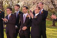 Mark Wolley and Beth Geiger Wedding in Washington DC at the Marriott Wardman Park. (Alan Lessig/ Wedding Photojournalist)
