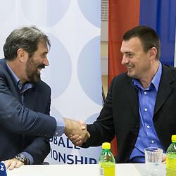 20150527: SLO, Handball - Veselin Vujovic, new head coach of Slovenian National Team
