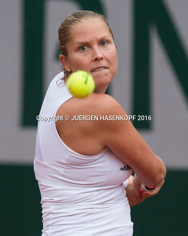 Shelby Rogers (USA)<br /> <br /> Tennis - French Open 2016 - Grand Slam ITF / ATP / WTA -  Roland Garros - Paris -  - France  - 1 June 2016.
