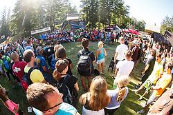 Downhill competition Sorca 2016 at Smucarski center Soriska Planina, Slovenia. Photo by Grega Valancic / Sportida